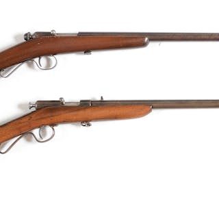 Lot consists of: (A) Winchester Model 36 9mm smoothbore single shot
