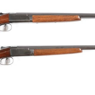 Lot consists of (A) Winchester Model 24 16 gauge