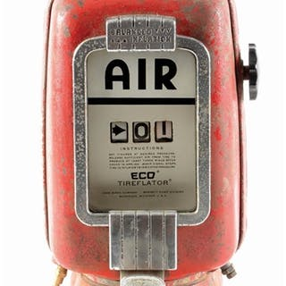 Eco Air Meter Model #97 is in fair condition