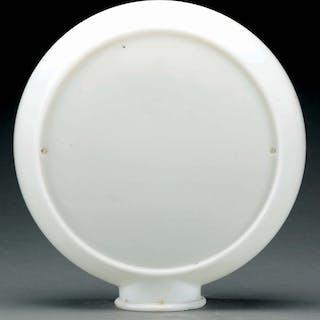 """Milk Glass Globe Body For 10"""" Insert Lenses"""