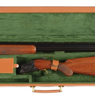 "A nice Belgium made 12 gauge circa 1962 shotgun with 28"" barrels"