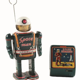 "Includes original remote marked ""SPACE COMMANDO"""