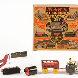 """Comes in very colorful original box marked """"7 TOYS IN 1..."""