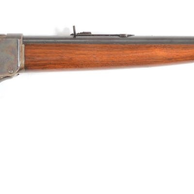 This fine rifle was made in 1886