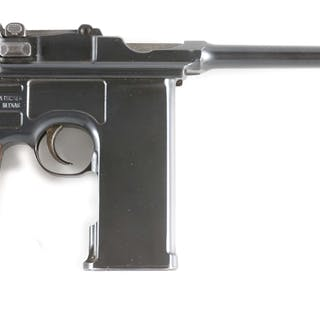 Features include scarce 20 shot integral magazine