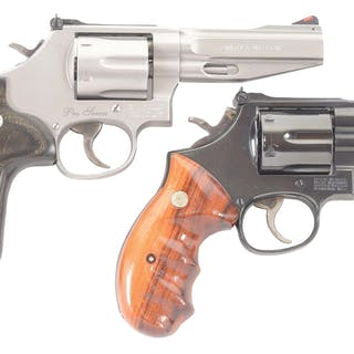 Lot consists of (A) Pro Series Model 686-6 stainless six...