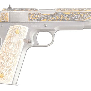 This is a standard Model 1911-A1 .45