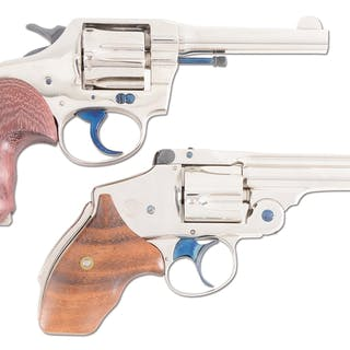 "Lot consists of (A) Colt Police Positive .38 4"" barrel double action revolver"