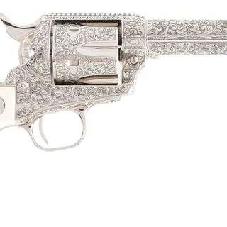 This custom Colt has all of its special features listed on box end label