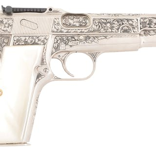 Ben started with one of the finest semi-automatic pistols ever made