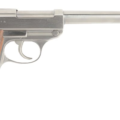 This custom made Walther Eagle 359 inspected P-38 pistol...