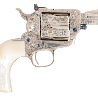 This possibly unique Custom Shop Colt Single Action Army...