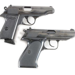 Lot consists of (A) Blue Model PP .380 ACP imported from...