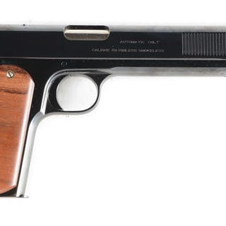 This is a first year production Colt Sporting Model 1902 in .38 ACP caliber