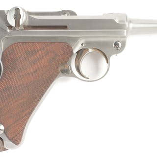 John Martz is well known as one of the finest builders of custom Lugers