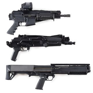 Lot consists of (A) Rock River Arms LAR-PPS with folding charging handle