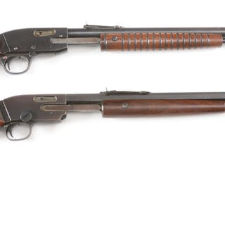 """Lot consists of (A) """"Keystone"""" model .22 caliber tube fed..."""