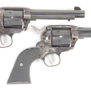 Lot consists of: Two Ruger New Vaquero Revolvers with...