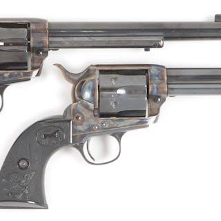 Serial number 2600 and 2601 American Western Arms Peacekeeper Revolvers