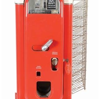 A very nice example of this Vendo 44 Coca Cola Soda Machine