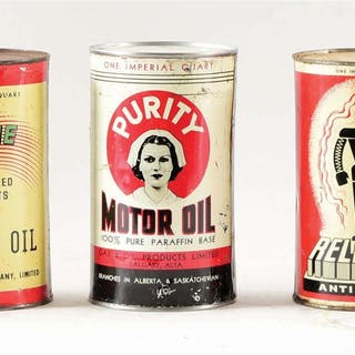 Lot Consists Of: Antelope Products One Quart Oil Can