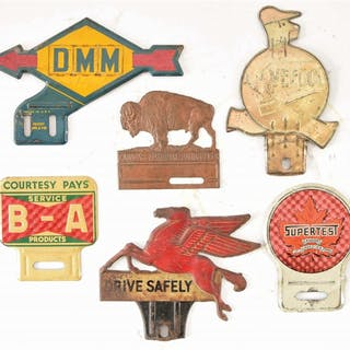 Lot Consists Of: Veedol Motor Oil Embossed Tin Sign