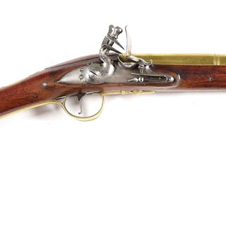 A handsome flintlock blunderbuss by the renowned H.W
