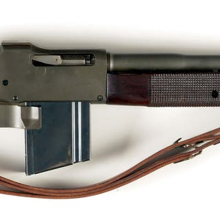 This is a commercially built gun by Group Industries utilizing new made
