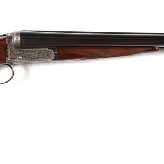 An exceptional 12 bore assisted opening boxlock ejector...