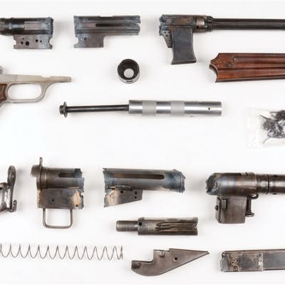 Lot consists of (A) Beretta PM 38/43 parts kit that was...
