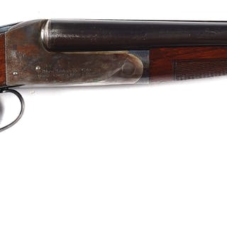 This is one of 2,500 guns built using the Flues model action