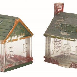 One house has broken chimney