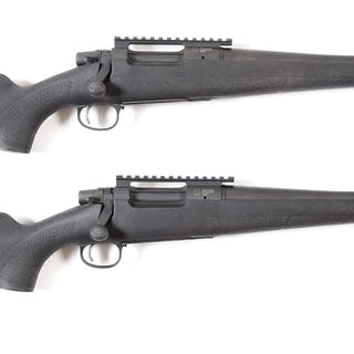 Lot consists of (A) Remington Model 7 .300 Blackout by...