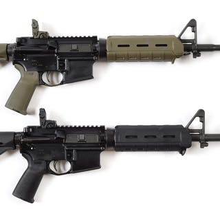 Lot consists of (A) Colt M4 Carbine