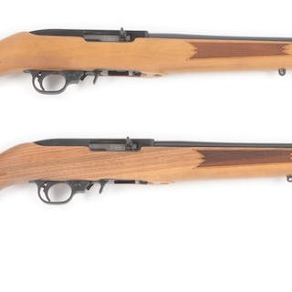 Lot consists of (A&B) Ruger 10/22 50th Anniversary Semi-Automatic Rifles