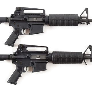 Lot consists of two Windham Weaponry M-4 Carbines with...