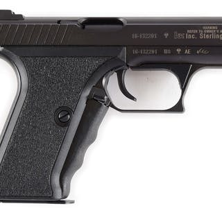 This magazine fed pistol was made in West Germany and is discontinued