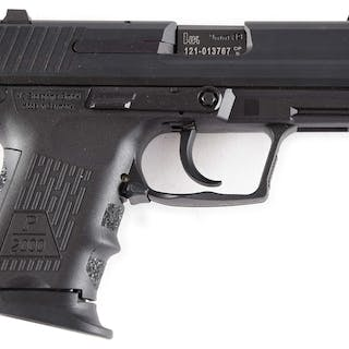 Heckler and Koch P2000SK is compact polymer framed semi-auto pistol
