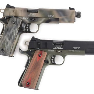 Lot consists of a pair of 1911-22s