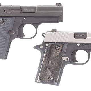 Lot consists of (A) Sig Sauer P938 single-action semi-automatic pistol