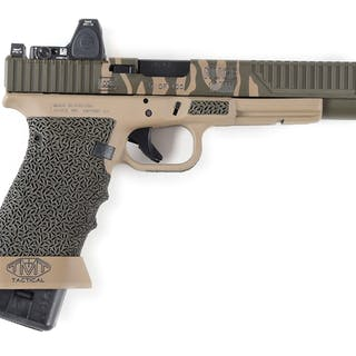 Special edition of the Glock 40 designed by Ted Nugent in...