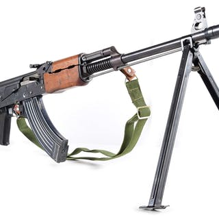These were built on the AK47 platform to be used as squad automatic rifles