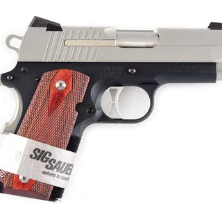 Sig Sauer 1911V ultra-compact semi-automatic pistol chambered in .45 ACP