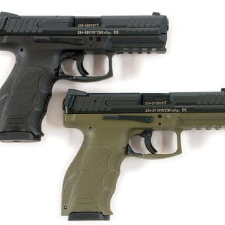 Lot consists of a pair of German produced VP9 pistols with polymer frames