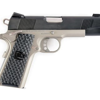 Fantastic Taylor limited production 1 of 300 Colt Elite Commander in .45 ACP