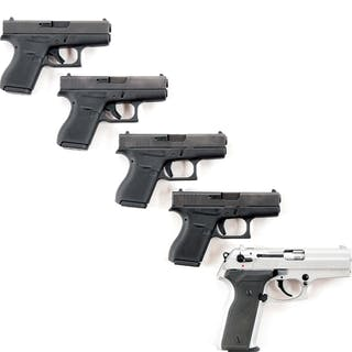 Lot consists of (A-D) Four Glock 42s