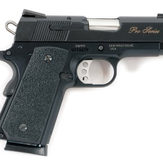 Gun is a Pro series configuration 1911 featuring three...