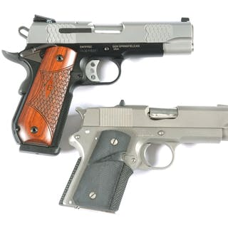 Lot consists of (A) Standard configuration 1911SC series...