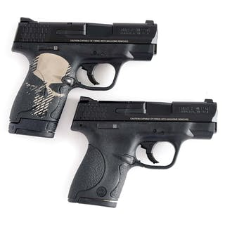 Lot consists of (A) Smith & Wesson M&P 9 Shield