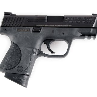 Cased compact carry pistol camber in .40 S&W